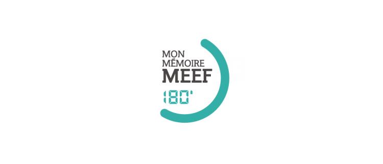 Logo du concours MEEF en 190 secondes